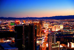 Las Vegas sunset Royalty Free Stock Images