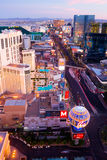 Las Vegas at sunset Royalty Free Stock Photos
