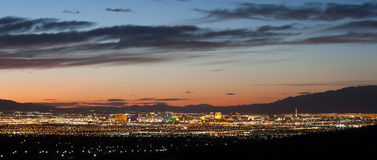 Las Vegas at Sunset Stock Photo
