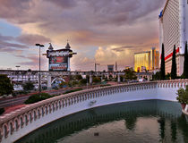 Las Vegas Sunset Royalty Free Stock Photography