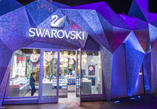 Las Vegas Swarovski Royalty Free Stock Photos