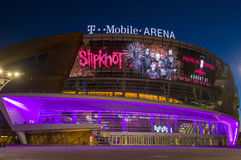 Las Vegas T-Mobile arena Royalty Free Stock Photo