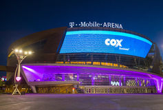Las Vegas T-Mobile arena Stock Photography