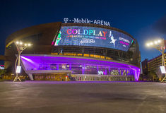 Las Vegas T-Mobile arena Royalty Free Stock Photography