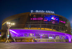 Las Vegas T-Mobile arena Stock Photo