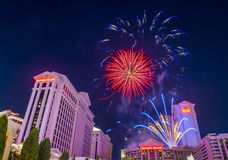 Las Vegas 4th Juli Royaltyfria Foton