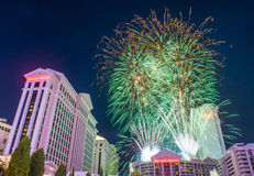 Las Vegas 4th Juli Arkivbilder
