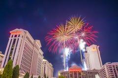 Las Vegas 4th Juli Arkivfoton