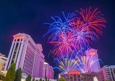 Las Vegas 4th Juli Arkivfoto