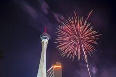 Las Vegas 4th Juli Royaltyfria Bilder