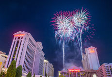 Las Vegas 4th of July Stock Image