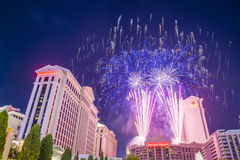 Las Vegas 4th of July Stock Photography