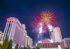 Las Vegas 4th of July Royalty Free Stock Images