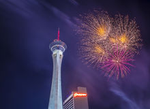Las Vegas 4th of July Royalty Free Stock Image