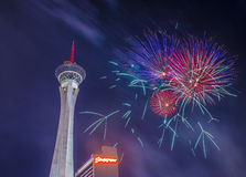 Las Vegas 4th of July Royalty Free Stock Photography