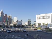 Excalibur Hotel & Casino parking lot, Las Vegas, USA Stock Photography