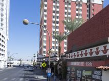 Fremont Street, Las Vegas, USA Royalty Free Stock Image