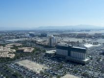 Las Vegas overview from the High Roller stock photos