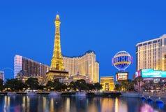 Free Las Vegas, The Strip By Night Stock Photo - 164145720