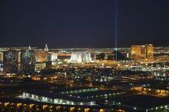 Las Vegas Theme Resorts Stock Photo