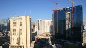 Las Vegas Time Lapse of Building stock video