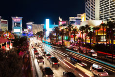 Las Vegas Traffic Stock Photo