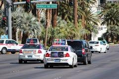 Las Vegas traffic Stock Photography