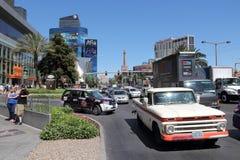 Las Vegas traffic Royalty Free Stock Photo