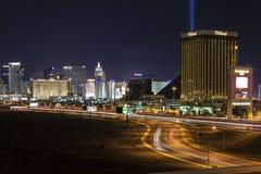 Las Vegas trafik Arkivbilder