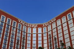 Las Vegas - Treasure Island Hotel and Casino Stock Photo
