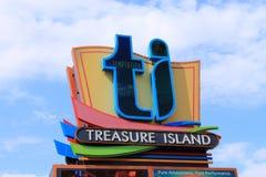 Las Vegas - Treasure Island Hotel and Casino Stock Photos