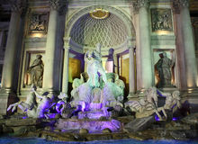 Las Vegas Trevi Fountain Landscape Royalty Free Stock Images