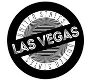 Las Vegas typographic stamp. Typographic sign, badge or logo Royalty Free Stock Photo