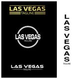 Las Vegas typography set, flat designs. EPS file available. see more images related vector illustration