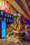 Las Vegas, U.S.A. - luglio 2016 vista della striscia di Las Vegas alla notte nel Nevada U.S.A. Fotografia Stock