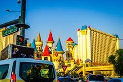 Las Vegas, U.S.A. - luglio 2016 vista della striscia di Las Vegas nel Nevada U.S.A. Fotografia Stock