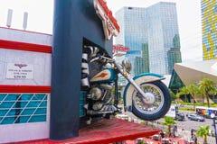 Las Vegas, U.S.A. - 5 maggio 2016: Caffè di Harley Davidson Immagini Stock