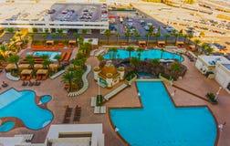 Las Vegas, U.S.A. - 4 maggio 2016: Hotel e casinò di Excalibur dentro, il Nevada Immagine Stock Libera da Diritti