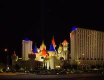 Las Vegas, U.S.A. - 5 maggio 2016: L'hotel ed il casinò di Excalibur Immagini Stock Libere da Diritti