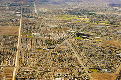 Las Vegas, United States. Aerial view of Las Vegas, United States royalty free stock images