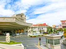Las Vegas, United States of America - May 5, 2016: Caesars Palace is a luxury hotel and casino Royalty Free Stock Image