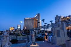 Las Vegas, US - April 28, 2018: The famous Mandalay bay hotel in stock photos