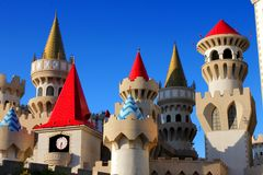 Excalibur Hotel and Casino Stock Images
