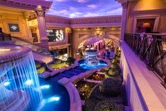 Las Vegas, USA - 28 avril 2018 : L'intérieur du forum célèbre Photos stock