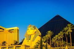 Las Vegas USA - Juli, sikt 2016 av den Las Vegas remsan i Nevada USA Royaltyfri Bild