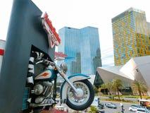 Las Vegas, USA - 5. Mai 2016: Harley Davidson-Café Stockbilder