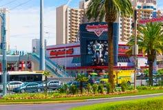Las Vegas USA - Maj 05, 2016: Harley Davidson kafé Fotografering för Bildbyråer