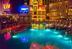 Las Vegas, usa - Maj 06, 2016: Wenecki kasyno i hotel w kurorcie Fotografia Stock