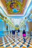 Las Vegas, usa - Maj 06, 2016: Wenecki kasyno i hotel w kurorcie Zdjęcia Stock