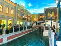 Las Vegas, usa - Maj 06, 2016: Wenecki kasyno i hotel w kurorcie Obrazy Stock